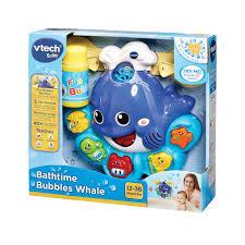 VTech Baby Bathtime Bubbles Whale - Multi-Coloured: Amazon.co.uk ...