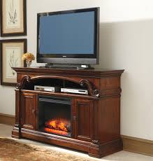 gaston 60 tv stand with fireplace by ashley at crowley furniture in kansas city