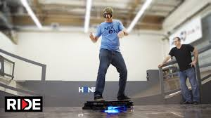 Real Working Hoverboard Tony Hawk Rides Worlds First Real Hoverboard Hendo Hover Youtube