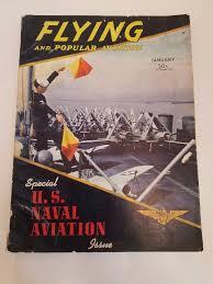 flying por aviation magazine january 1942 us naval aviation special