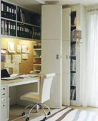 office in a closet. Great Use Of Space In This Multi-purpose Office Closet Note Binder Space, Drawers A