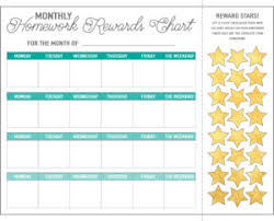 Gold Star Sticker Chart Homework Reward Charts Free Printables Live Craft Eat