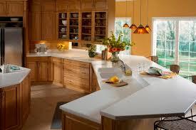 corian countertop kitchen white black
