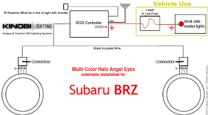 halo headlight wiring diagram halo image wiring subaru brz installing instructions for halo angel eye kits by on halo headlight wiring diagram