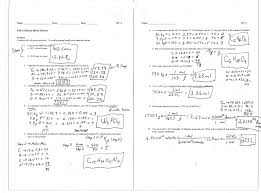 chemical equations and stoichiometry worksheet answers