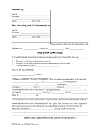 Grant Deed Form Free California Grant Warranty Deed Form PDF Word eForms 1