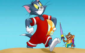 Tom & Jerry are naked all day,but wearing clothes at the beach:  Showerthoughts