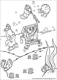 Spongebob Coloring Pages Printables Color Pages Colouring Pages