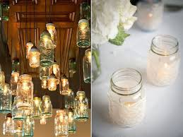 Decorating Ideas With Mason Jars Mason Jar Wedding Ideas Simply Peachy Event Design Planning 25