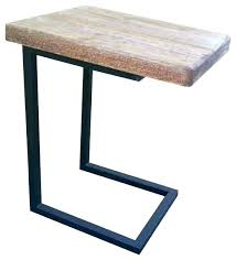 c shaped accent table metal and wood end attractive coaster furniture com wedge costco c shaped end table l11