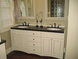 White Bathroom Cabinets Wall Bathroom Single Sink Dark Countertop White Bathroom Cabinets