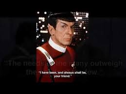 Star Trek Quotes New 48 SpockStar Trek Inspirational Quotes YouTube