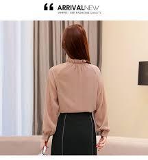 New <b>2019 spring Chiffon blouse</b> women <b>shirts</b> fashion long sleeves ...