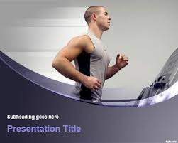 Free Run Trainer Powerpoint Template
