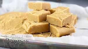 old fashioned peanut er fudge the