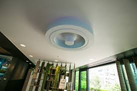 Dyson Bladeless Ceiling Fan Warisan Lighting Throughout Eciting With Light .