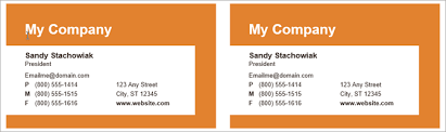 microsoft business card how to make free business cards in microsoft word with templates