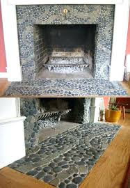 tiles in front of fireplace best ideas about mosaic fireplace on tile front fireplace tiles in front of fireplace