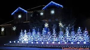 Let It Go Christmas Light Show An Elaborate And Stunning Christmas Light Display Set To The