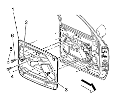 225319 cadillac dts rear door panel removal on 65 gmc truck wiring diagram