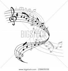 Muscial Staff Musical Staff Music Vector Photo Free Trial Bigstock