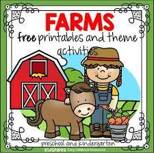 Animal Activity Chart Farm Animals Theme Activities And Printables For Preschool