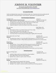 Resume Templates On Word Elegant Free Resume Templates Word Document