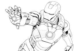 Small Picture Iron Man Mark 6 Coloring PagesManPrintable Coloring Pages Free