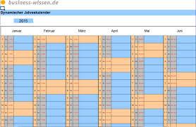 Excel Kalender Excel Dynamischer Jahrsakalender Kalender