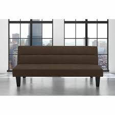 futon sofa full size brown color bed