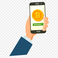 Mobile bitcoin wallets are hot on android, especially with the issues apple has had with bitcoin for many bitcoin lovers, apple pushed them into android devices just to get great bitcoin apps, and the. Mobile Bitcoin Receiving Concept On Transparent Background Png Similar Png