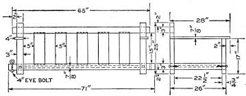 free mission style porch swing plans in pine
