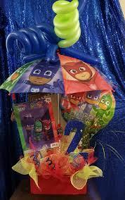 Pj Mask Party Decoration Ideas PJ Masks Table Centerpiece PJ Masks Party Pinterest Pj mask 80