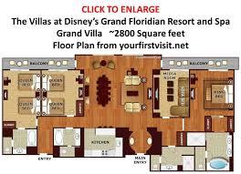disney bay lake tower floor plan new bay lake tower e bedroom villa floor plan of