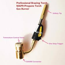 welding with propane torch. Delighful With Welding Torch Of MAPPPropane Gas For Brazing Soldering Heating  Application Can Also Be With Propane O