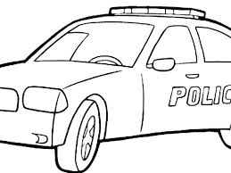 Coloring Pages Police Car Coloring Cars Pages Sports Free Police