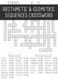 arithmetic geometric sequences