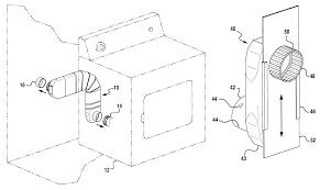 Vent System Patent Us6230418 Low Profile Dryer Exhaust Vent System Google