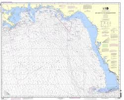 Noaa Nautical Chart 11006 Gulf Coast Key West To
