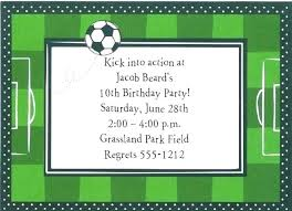Soccer Party Invitation Template Soccer Themed Invitations Assa Me