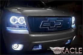 2007 to 2016 avalanche oracle halo fog lights complete assembly