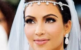 kim kardashian s wedding day makeup lovely kim kardashian wedding hair and makeup