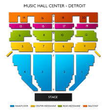 Music Hall Center Detroit Mi Seating Chart Music Hall Center Tickets