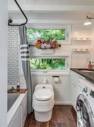 tiny house bathroom. Perfect House Youu0027ll Need To Squeeze A Lot Into Your Tiny House Bathroom See Ideas Inside Tiny House Bathroom