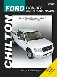 ford f150 v6 v8 pickup truck repair manual 2004 2016 chilton rh themotorbook com haynes auto repair manuals chilton auto repair manual