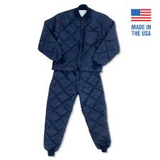 Insulated Underwear Index — SNAP'N'WEAR & Style 130/140 · Quilted Insulated Suit (sold as set only) Adamdwight.com