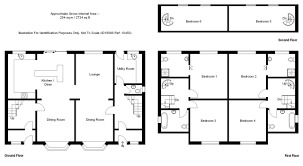 6 bedroom house plans with ground floor first and second unusual plan
