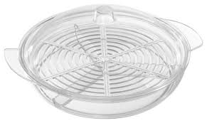 cold serving tray veggie platter with lid by classic cuisine contemporary food storage containers by trademark global