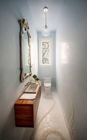 Small powder room design Pictures 21 Extra Slim Homedit 40 Powder Room Ideas To Jazz Up Your Half Bath