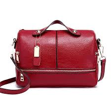 <b>ONEFULL NEW FASHION Pu</b> Leather Shoulder Bag Women Spring ...